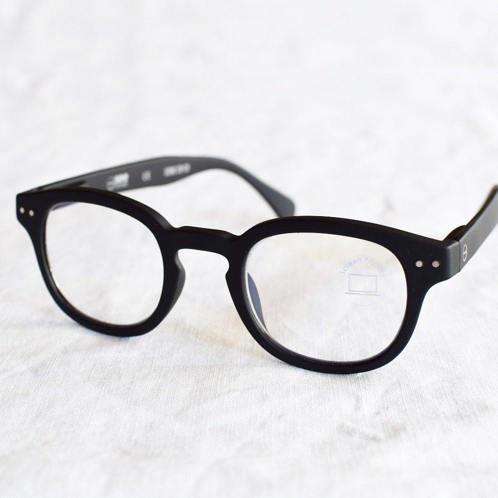 GLASS FOR SCREENS ブルーライトカット眼鏡 #C BLACK img1