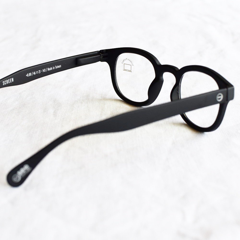 GLASS FOR SCREENS ブルーライトカット眼鏡 #C BLACK img2