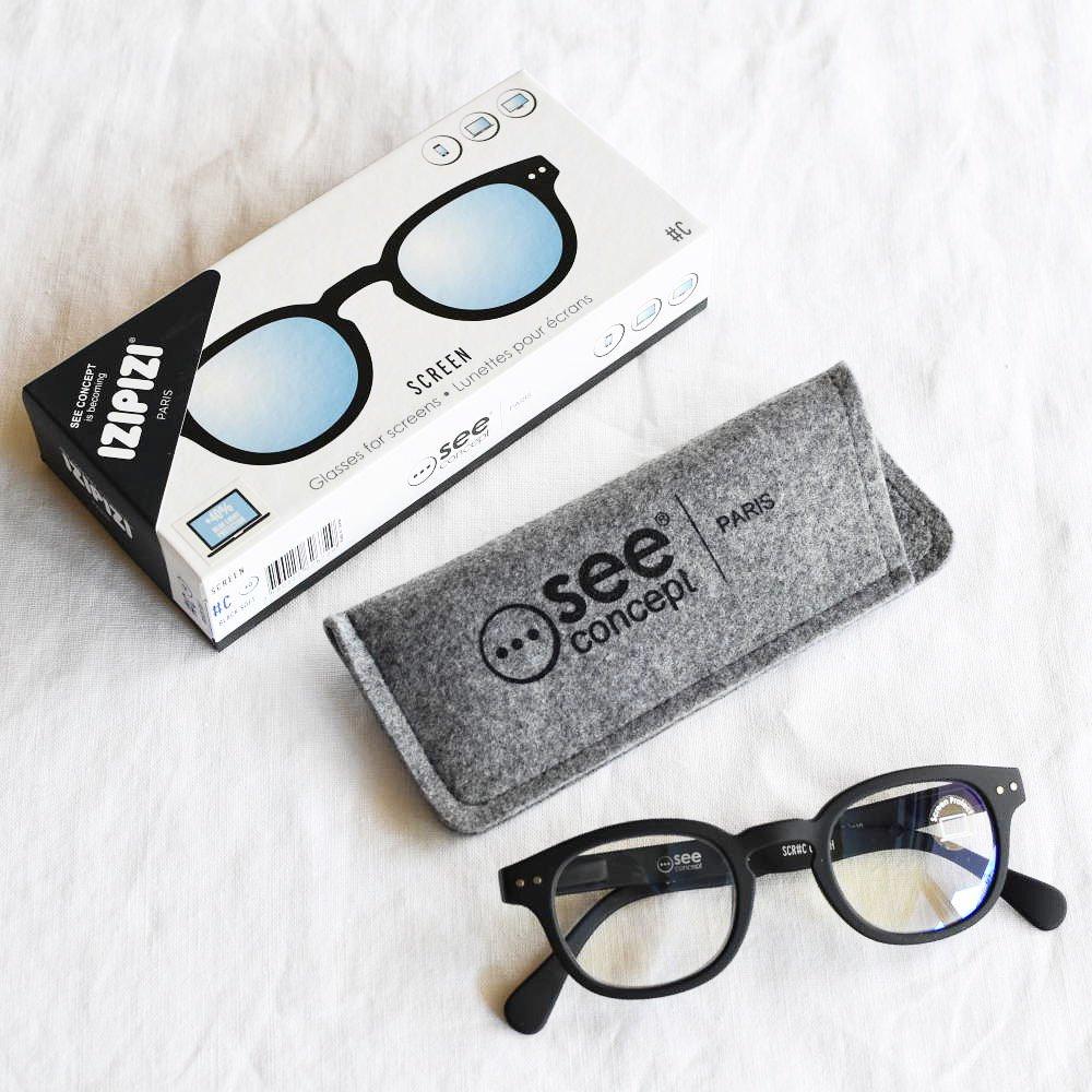 GLASS FOR SCREENS ブルーライトカット眼鏡 #C BLACK img4