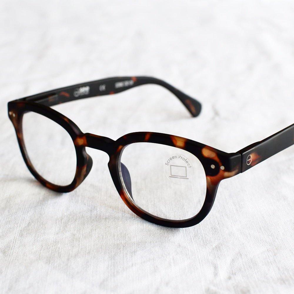 GLASS FOR SCREENS ブルーライトカット眼鏡 #C TORTOISE img1
