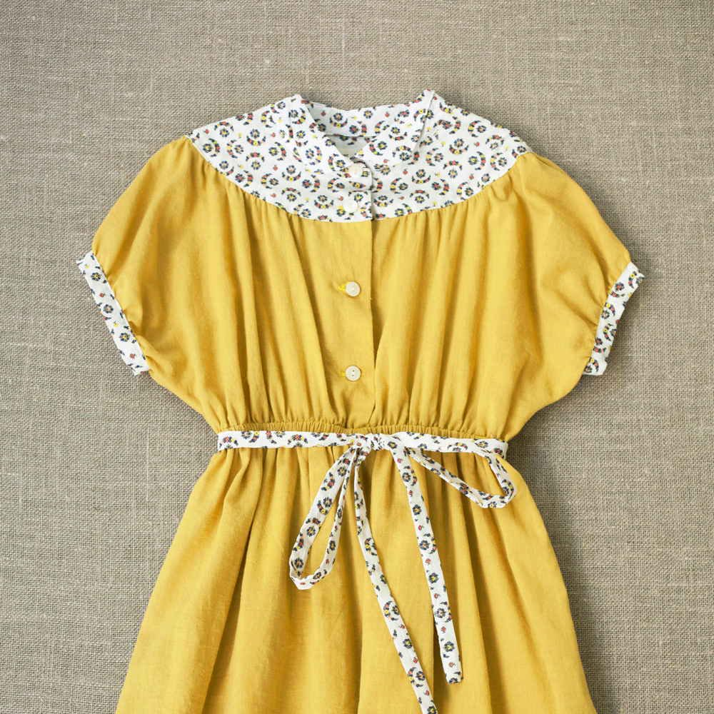 【SALE 30%OFF】Astrid Dress Chamomile img