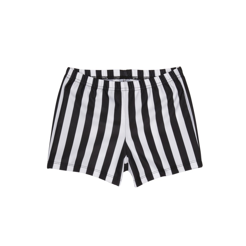 【WINTER SALE 40%OFF】SWIM PANTS JS STRIPES BLK & WHT img