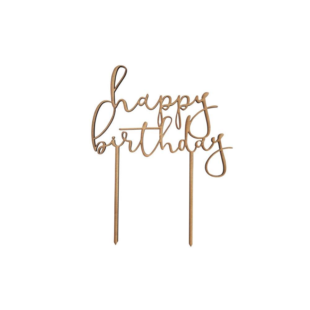 【追加販売】ケーキトッパー happy birthday img