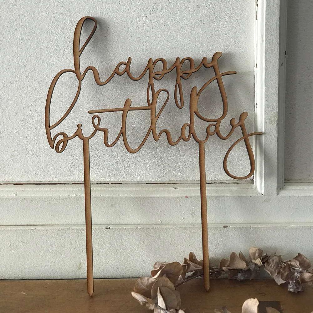 ケーキトッパー happy birthday img5