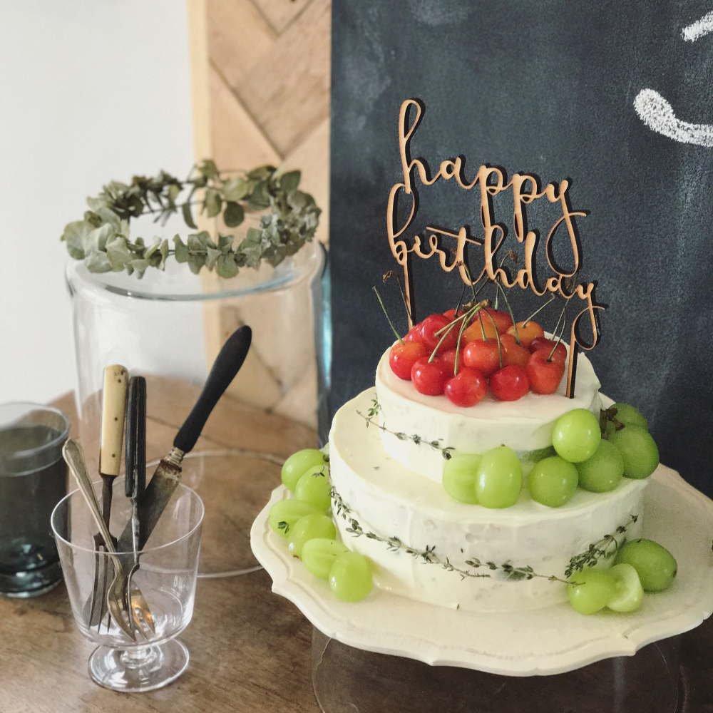 【追加販売】ケーキトッパー happy birthday img6