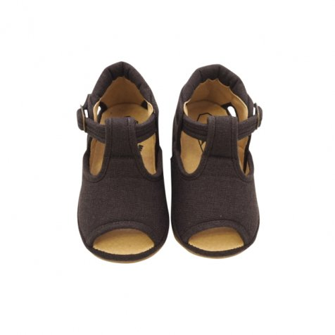 T-Strap Sandal BROWN