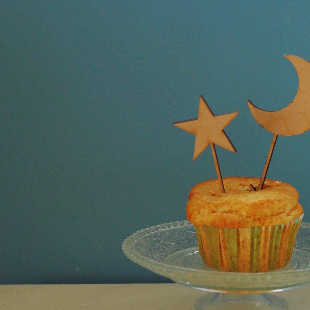 ケーキトッパー moon & star  img4