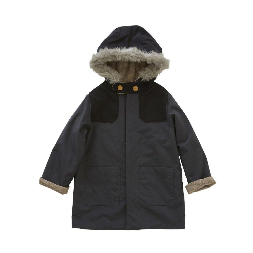 【入荷前ご予約販売】【9月末入荷予定】high-lander coat charcoal grey img