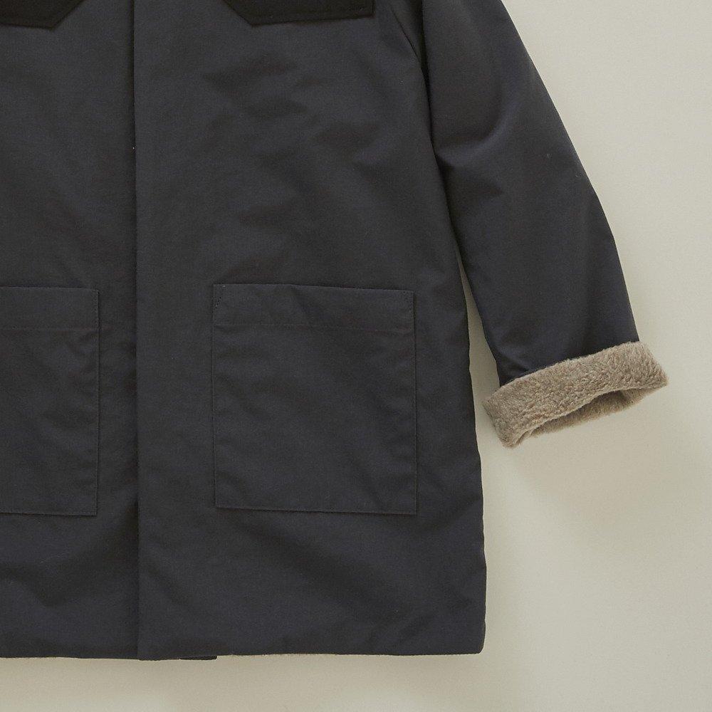 【入荷前ご予約販売】【9月末入荷予定】high-lander coat charcoal grey img3