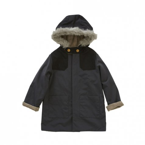 high-lander coat charcoal grey
