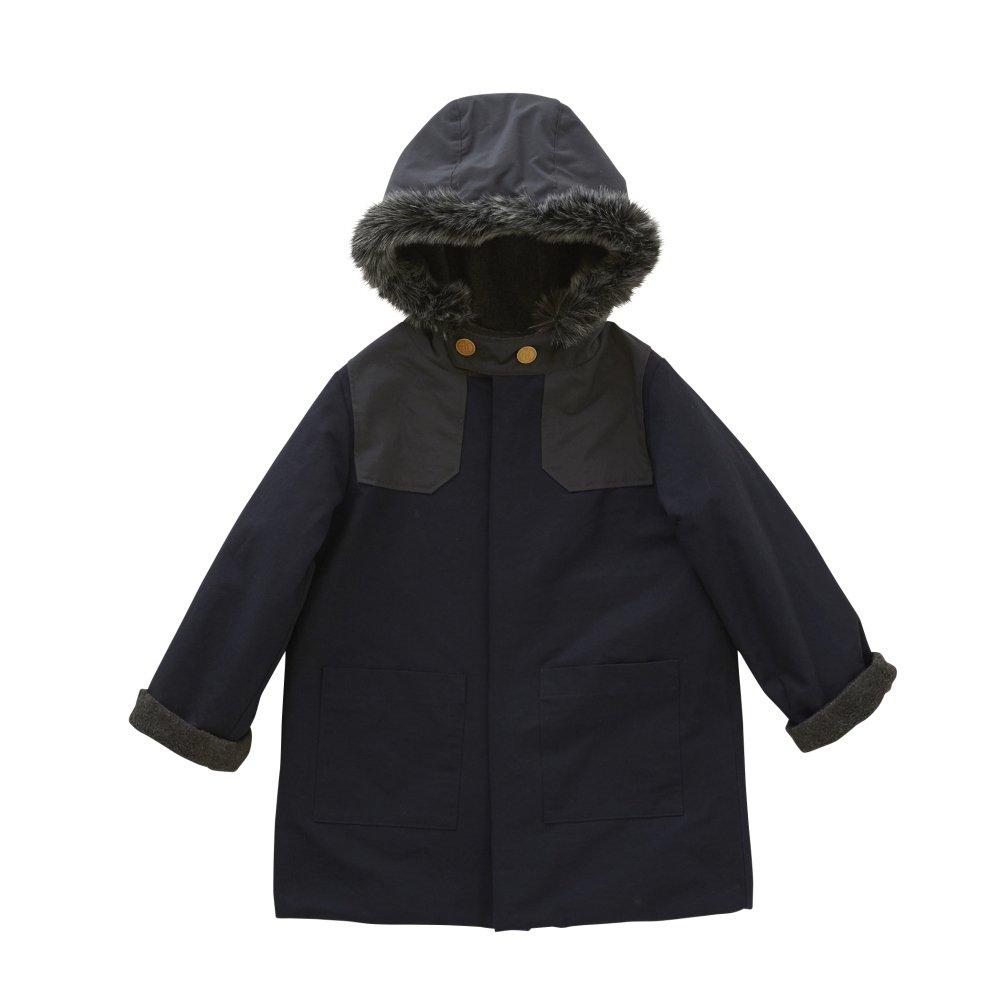 【入荷前ご予約販売】【9月末入荷予定】high-lander coat navy img