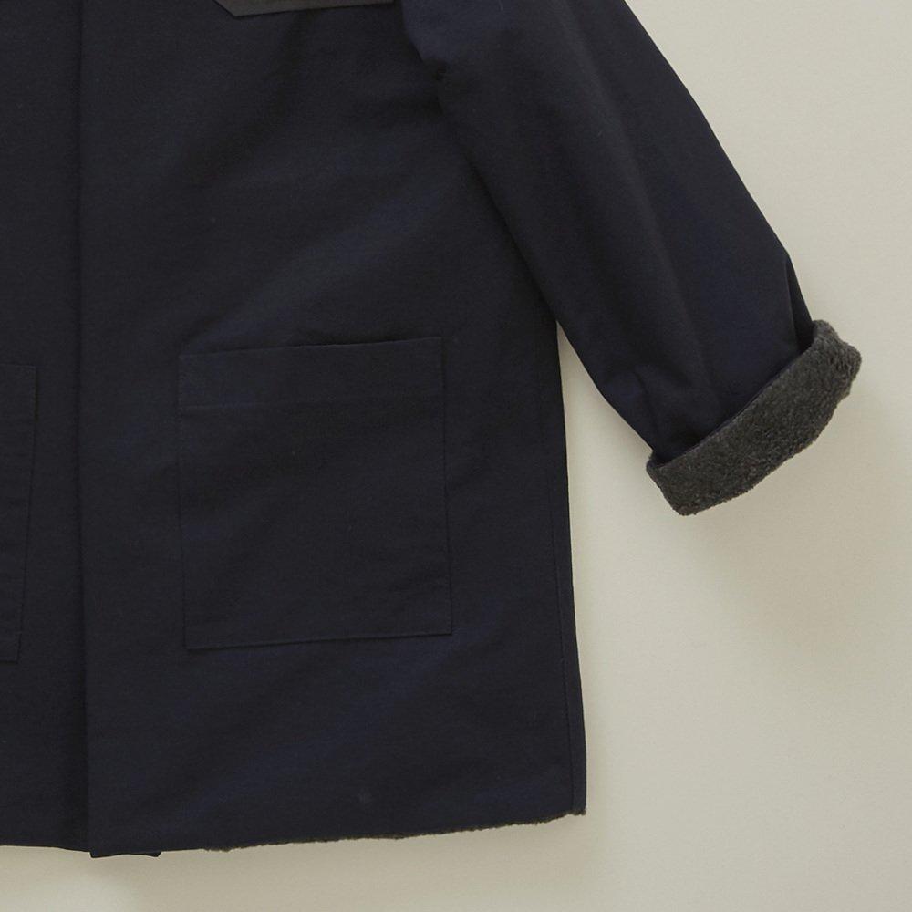【入荷前ご予約販売】【9月末入荷予定】high-lander coat navy img3