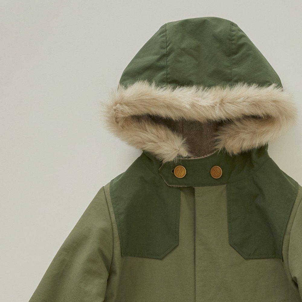 【WINTER SALE 20%OFF】high-lander coat sage green img1