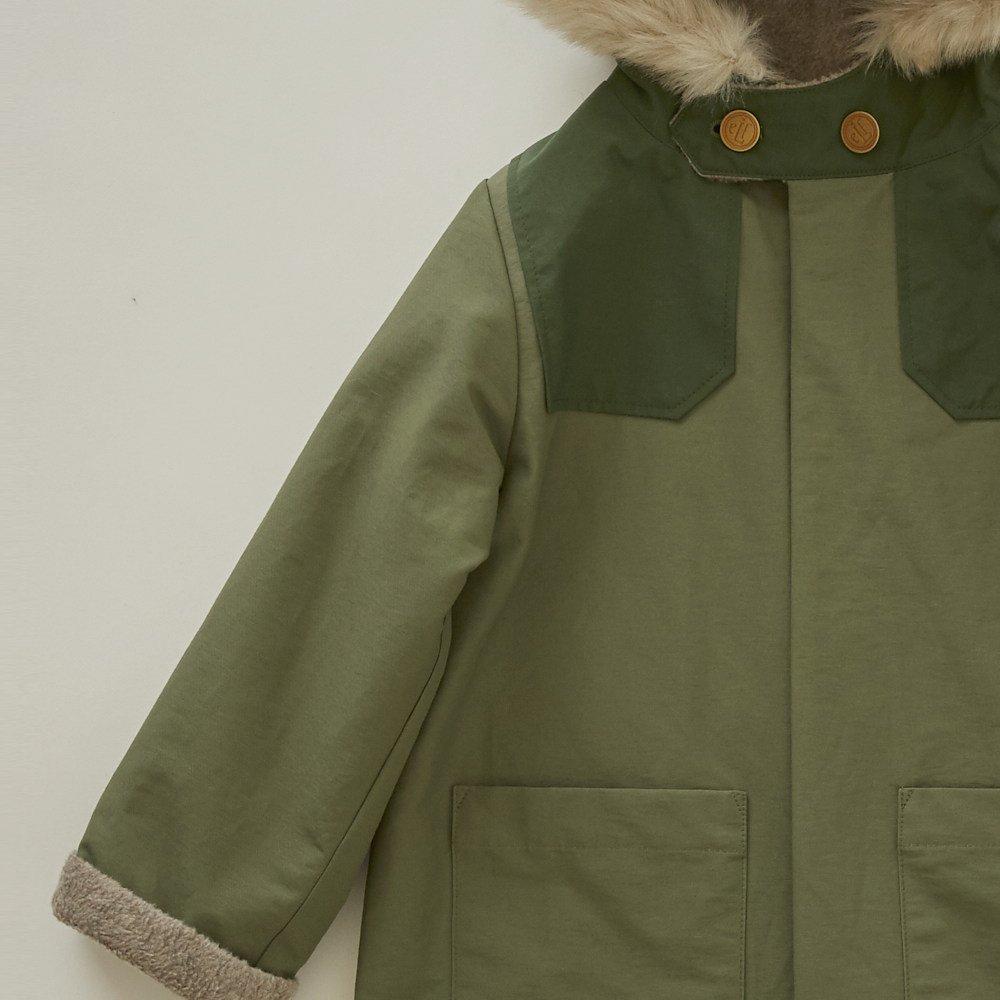 【WINTER SALE 20%OFF】high-lander coat sage green img2
