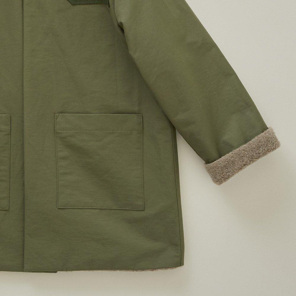 【WINTER SALE 20%OFF】high-lander coat sage green img3