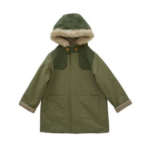 【WINTER SALE 20%OFF】high-lander coat sage green