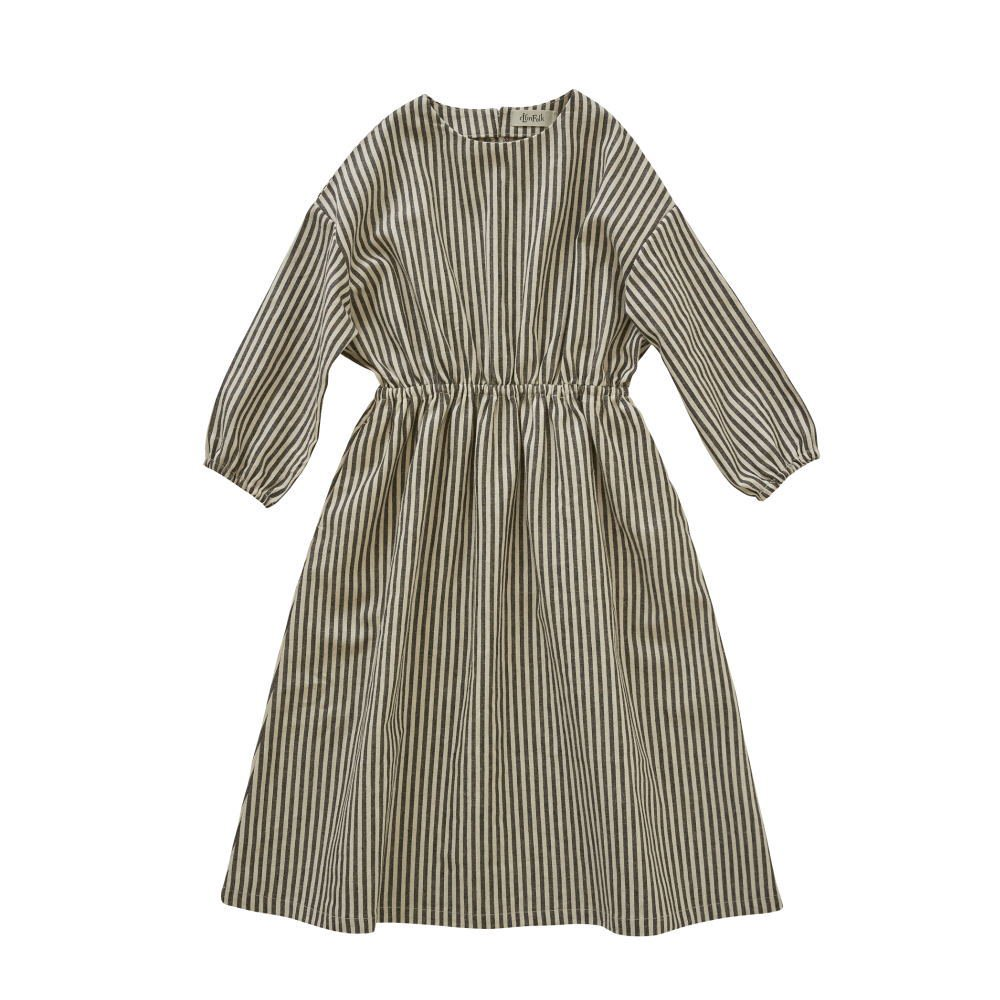 stripe linen dress img