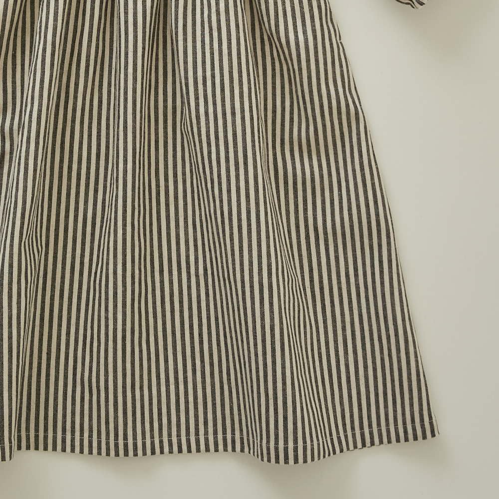 stripe linen dress img2