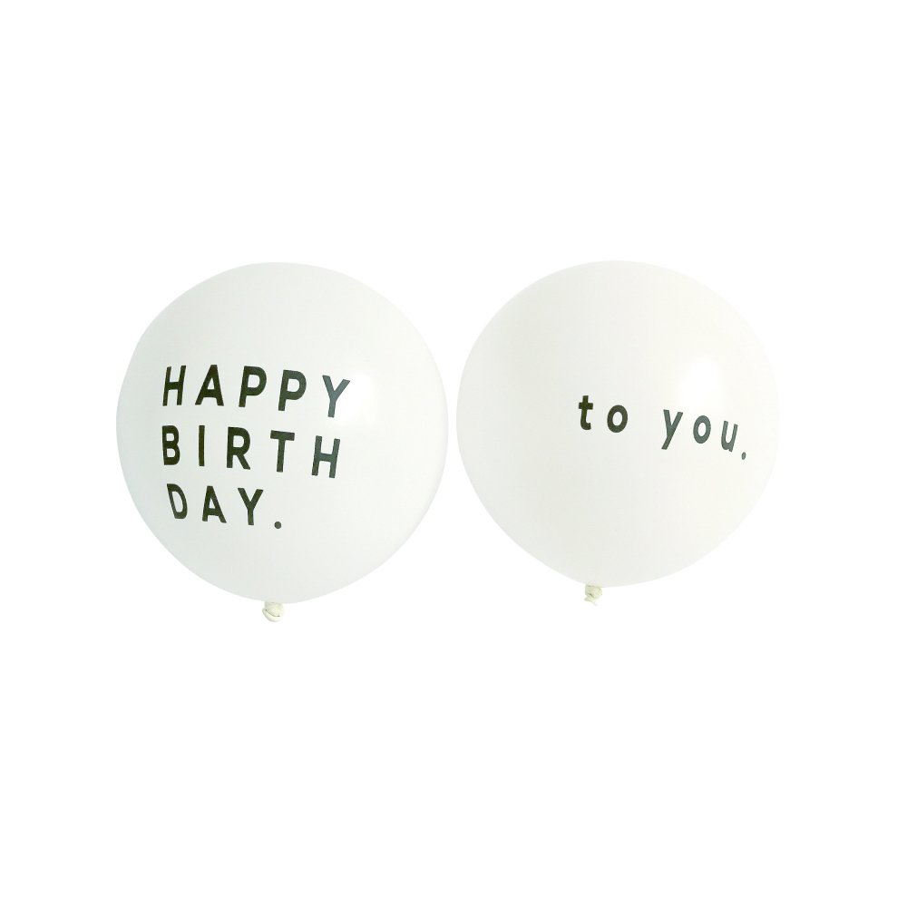 【再入荷】Balloon Happy Birthday to you 5pcs img