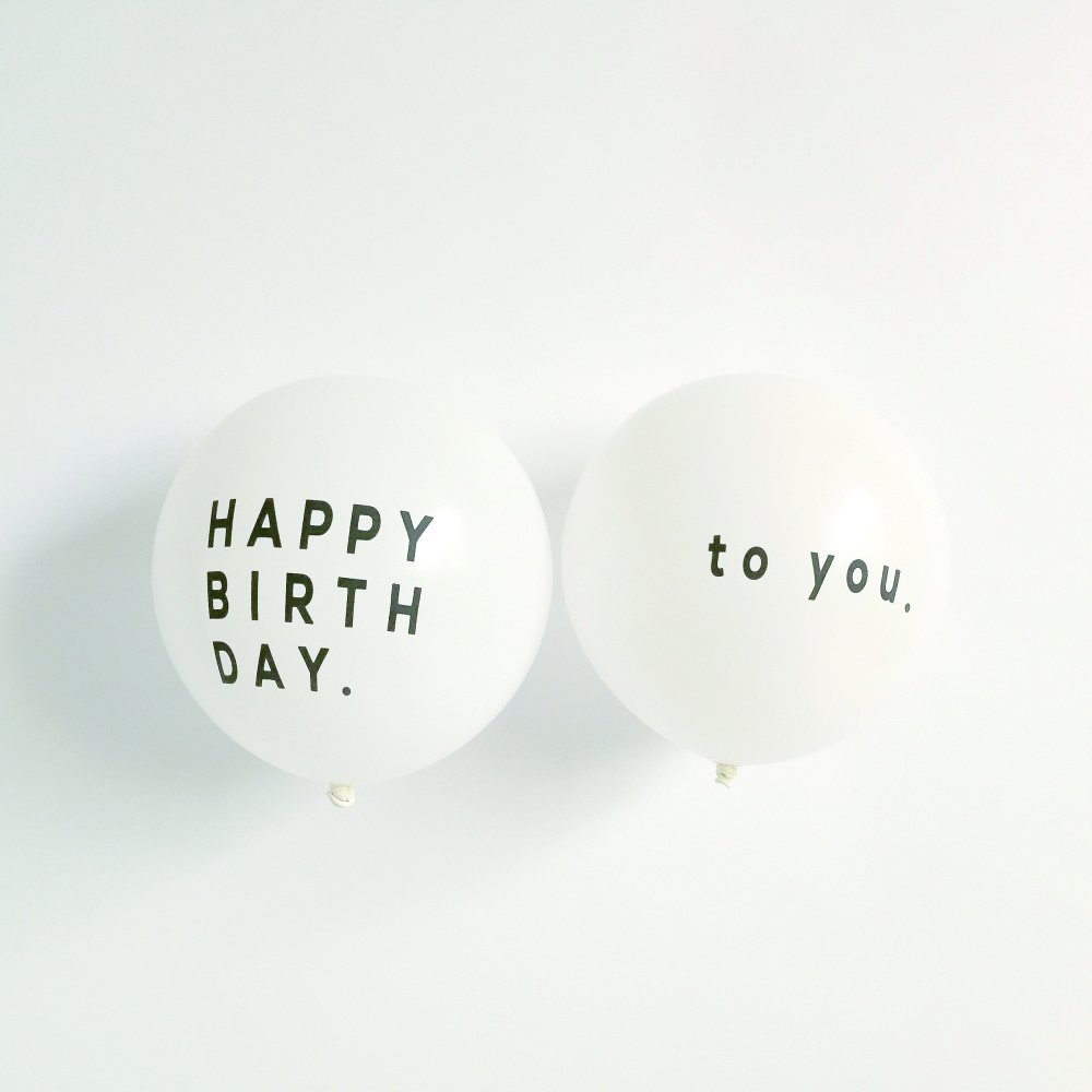 【再入荷】Balloon Happy Birthday to you 5pcs img1