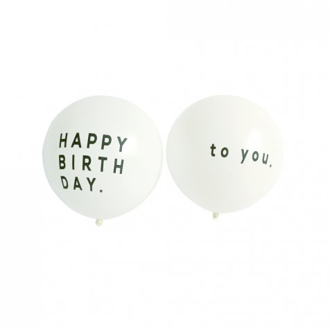 【次回11月初旬再入荷予定】Balloon Happy Birthday to you 5pcs