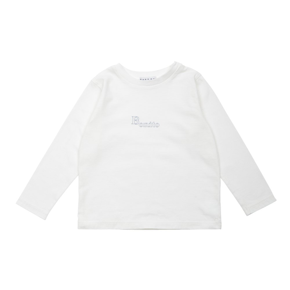 【7月末入荷予定】Long Sleeve Tee Shirt Bonito White img