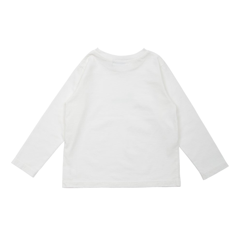 【7月末入荷予定】Long Sleeve Tee Shirt Bonito White img1
