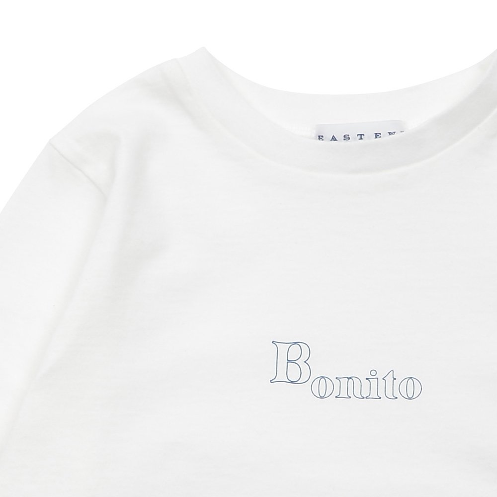 【7月末入荷予定】Long Sleeve Tee Shirt Bonito White img2