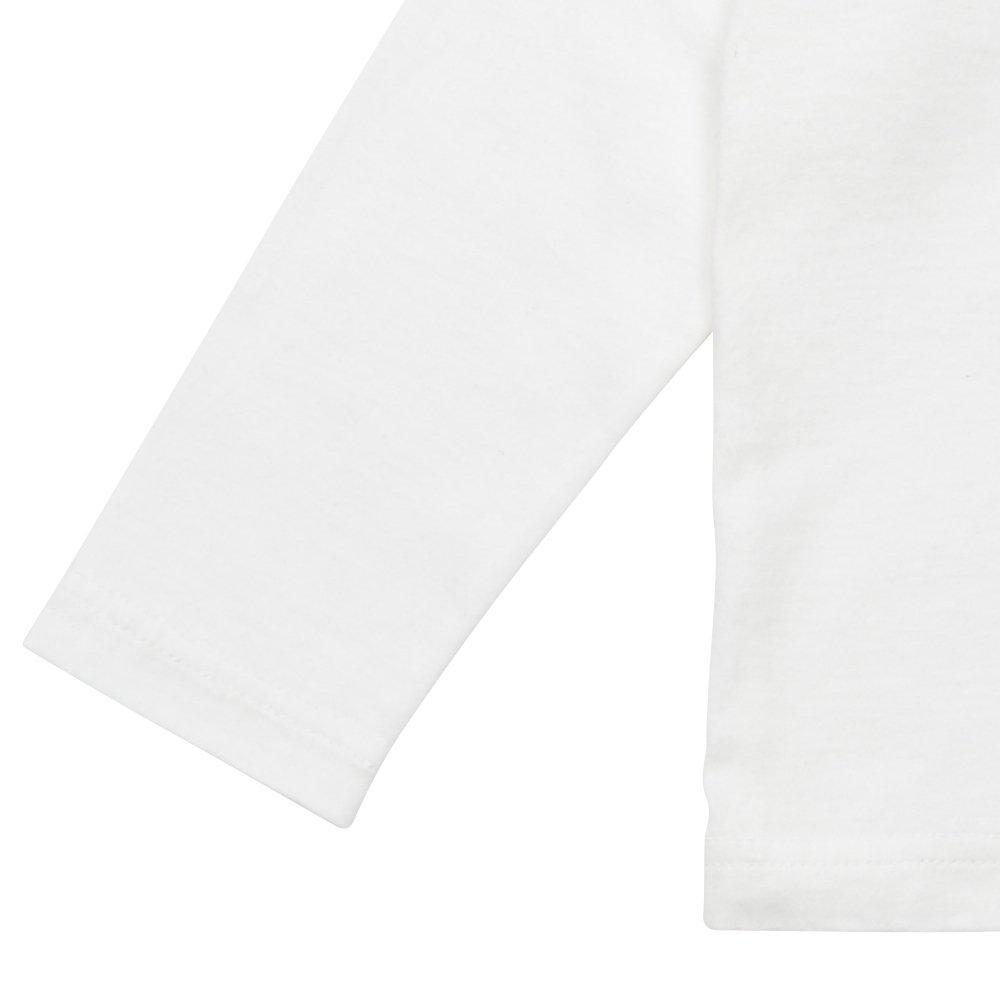 Long Sleeve Tee Shirt Bonito White img3