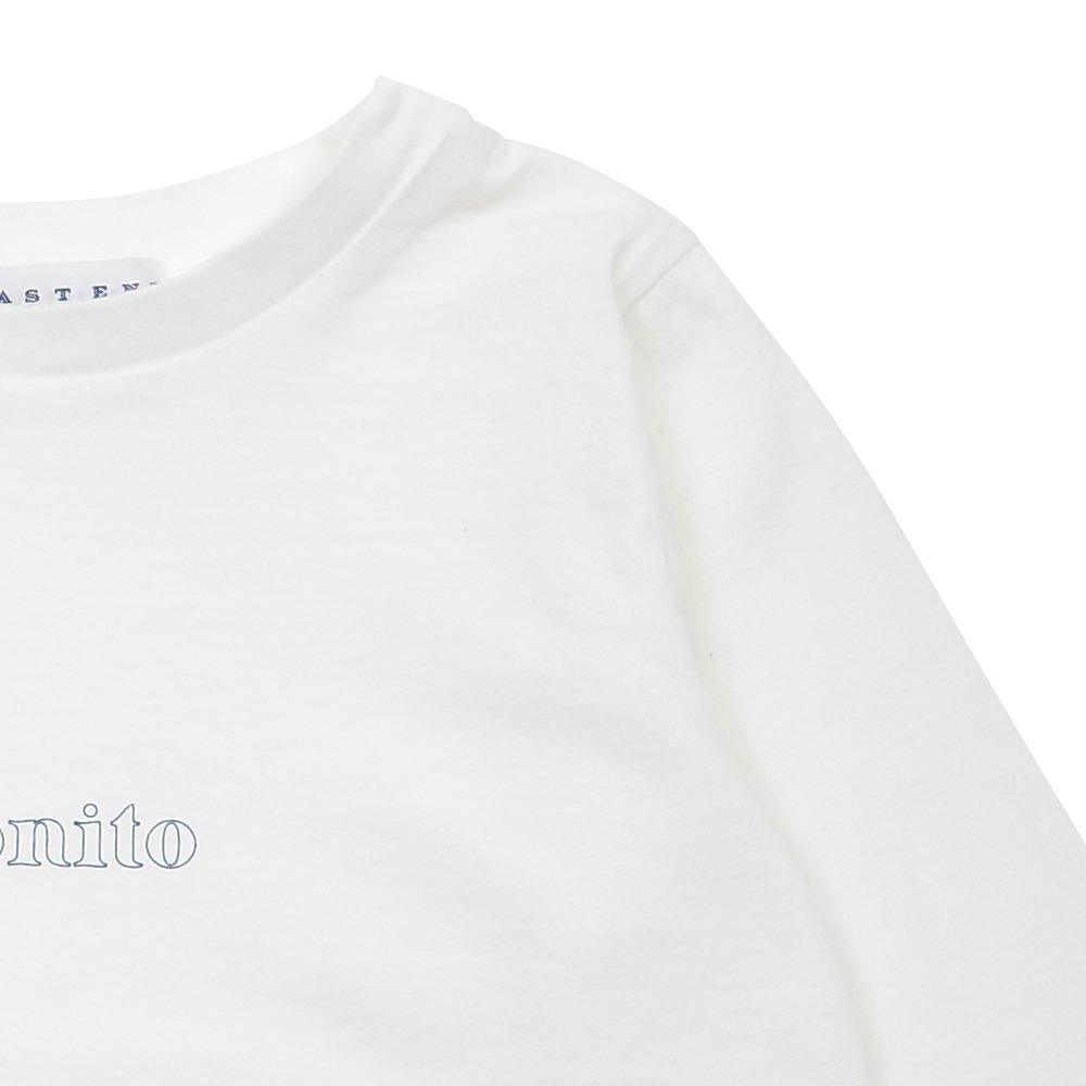 【7月末入荷予定】Long Sleeve Tee Shirt Bonito White img4