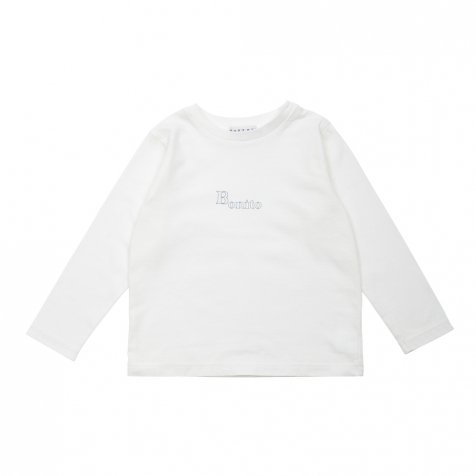 【WINTER SALE 20%OFF】Long Sleeve Tee Shirt Bonito White