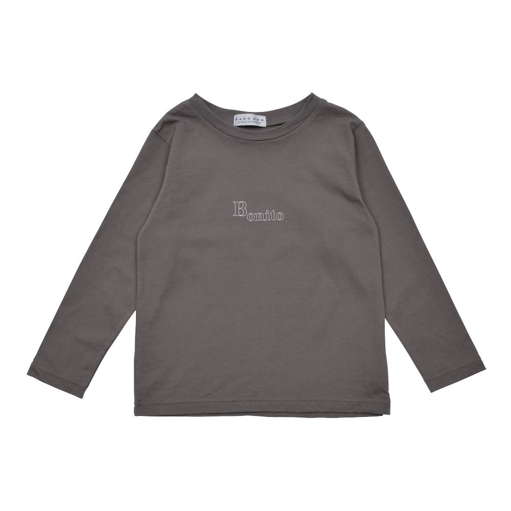 【7月末入荷予定】Long Sleeve Tee Shirt Bonito Grey img