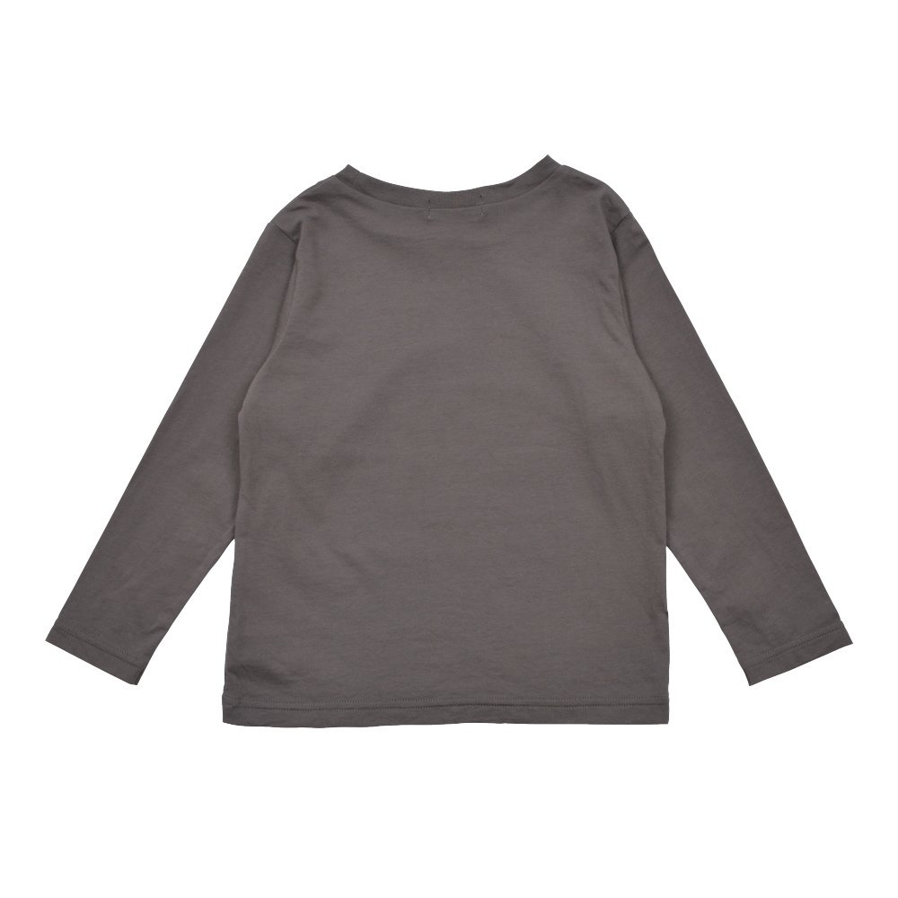 【7月末入荷予定】Long Sleeve Tee Shirt Bonito Grey img1