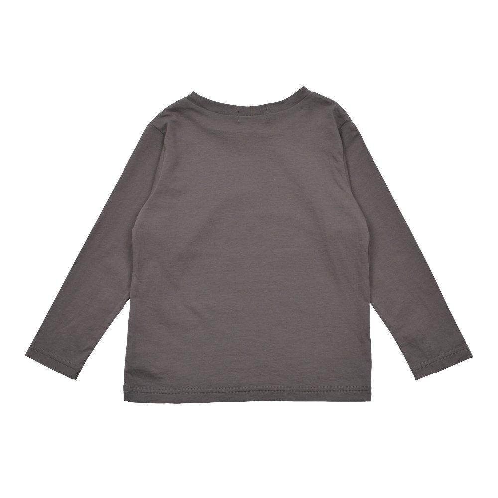 Long Sleeve Tee Shirt Bonito Grey img1