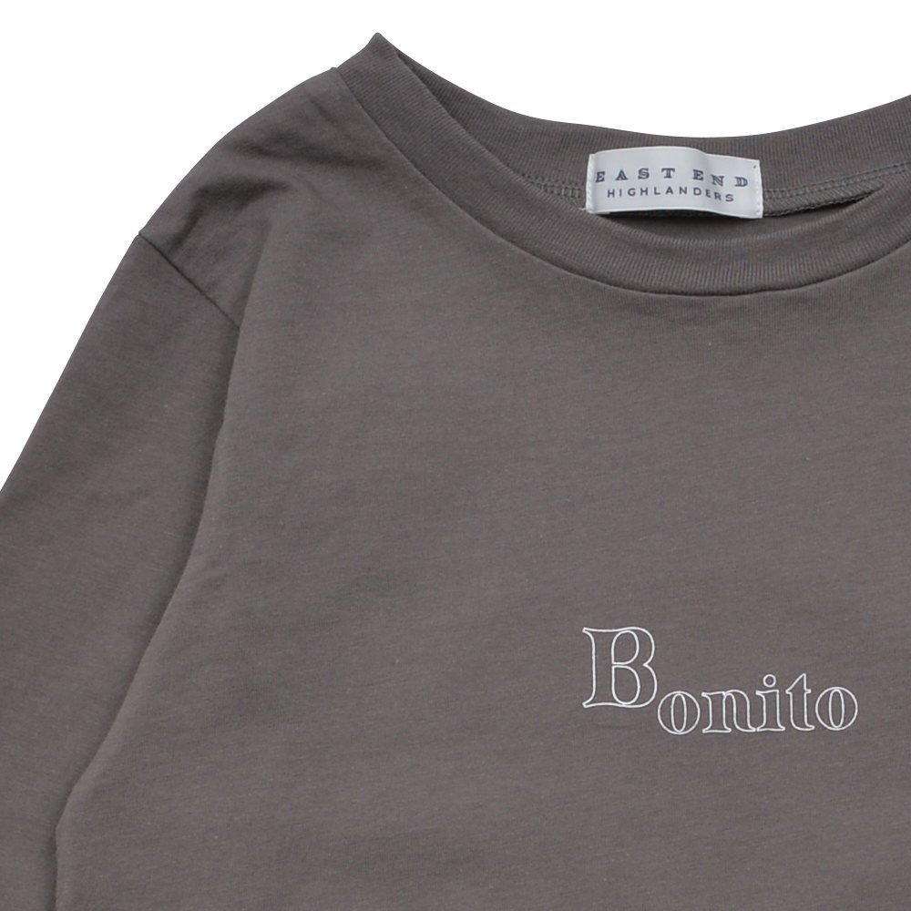 【7月末入荷予定】Long Sleeve Tee Shirt Bonito Grey img2