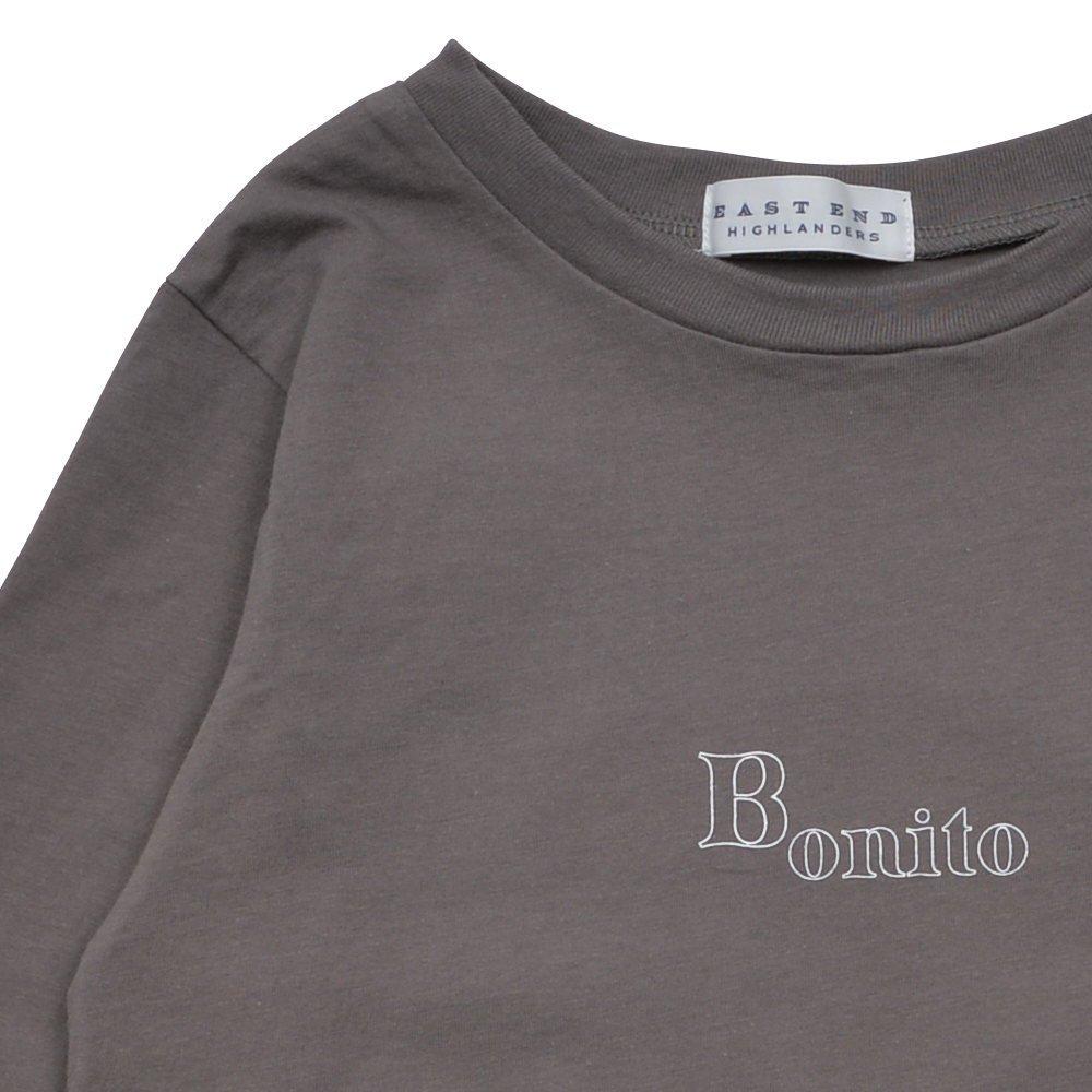 Long Sleeve Tee Shirt Bonito Grey img2