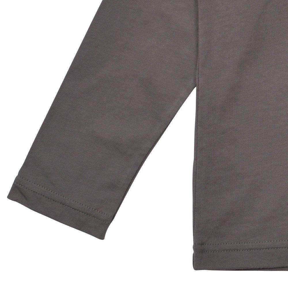 Long Sleeve Tee Shirt Bonito Grey img3