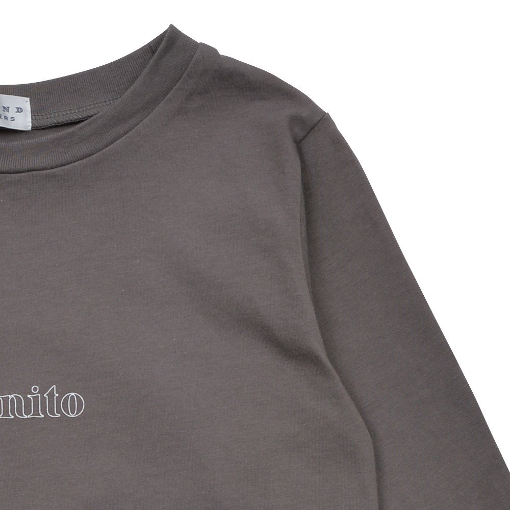 Long Sleeve Tee Shirt Bonito Grey img4