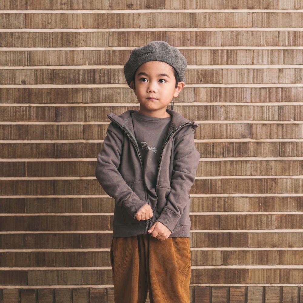 Long Sleeve Tee Shirt Bonito Grey img5