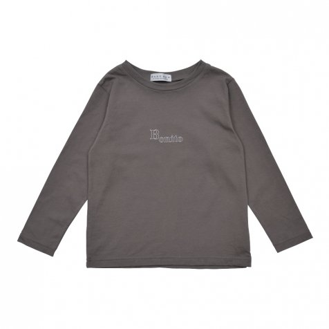 【WINTER SALE 20%OFF】Long Sleeve Tee Shirt Bonito Grey