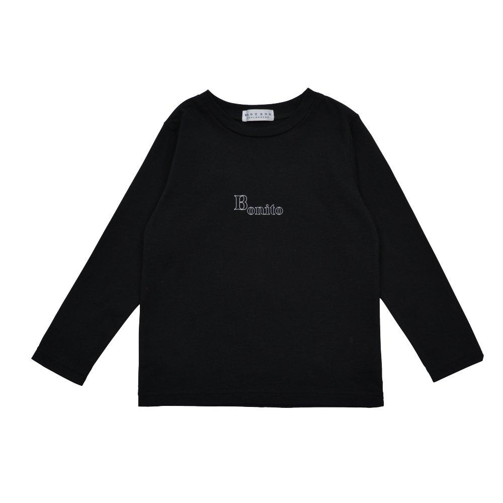 Long Sleeve Tee Shirt Bonito Black img