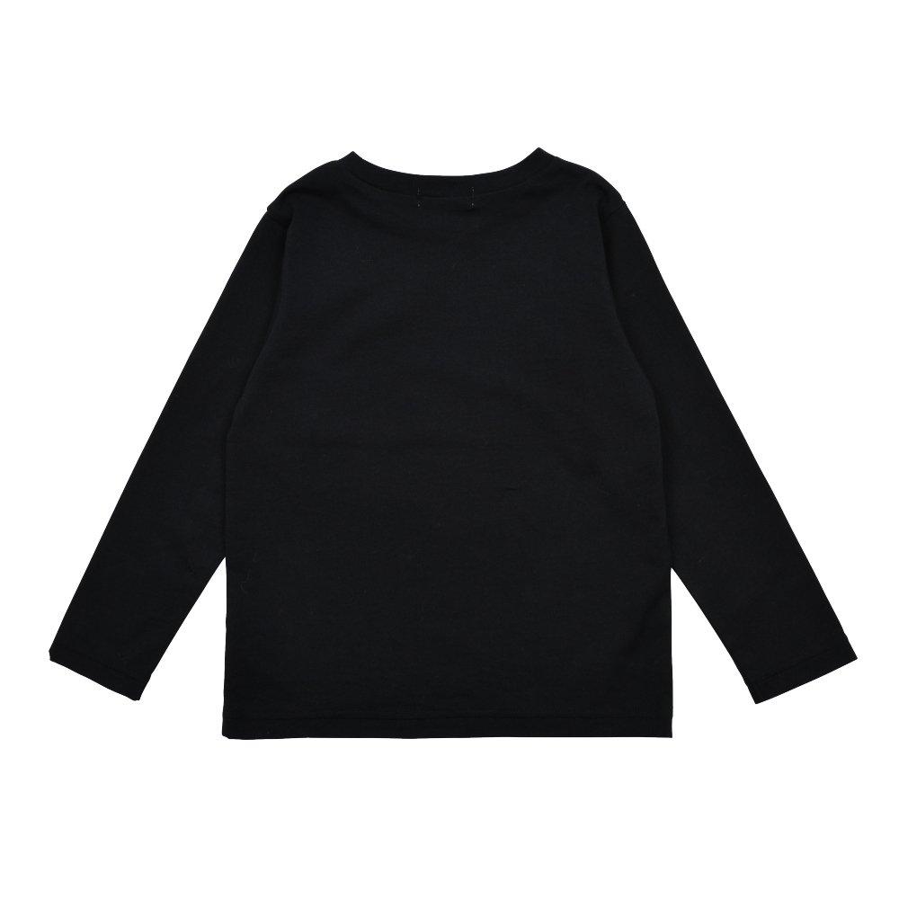Long Sleeve Tee Shirt Bonito Black img1