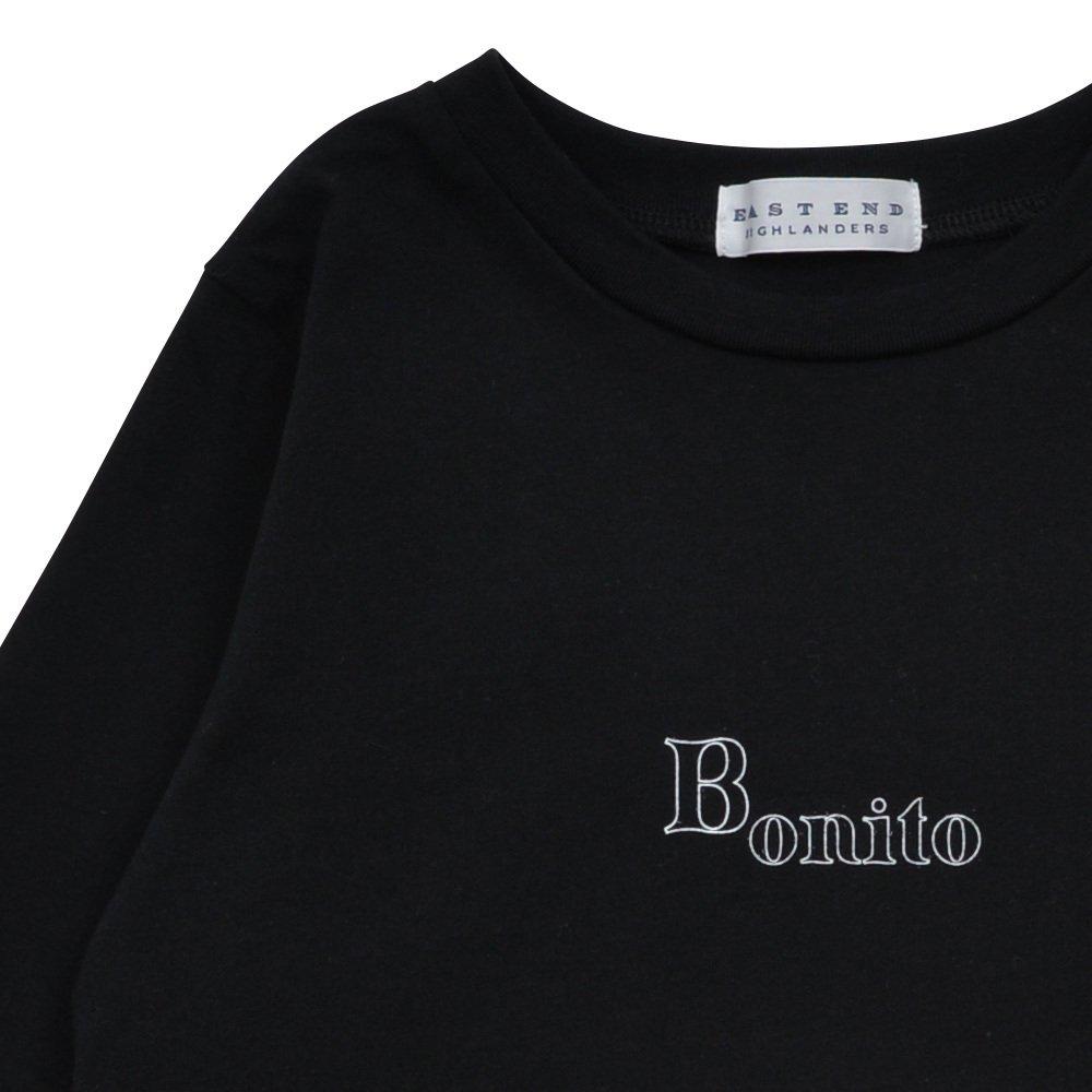 Long Sleeve Tee Shirt Bonito Black img2