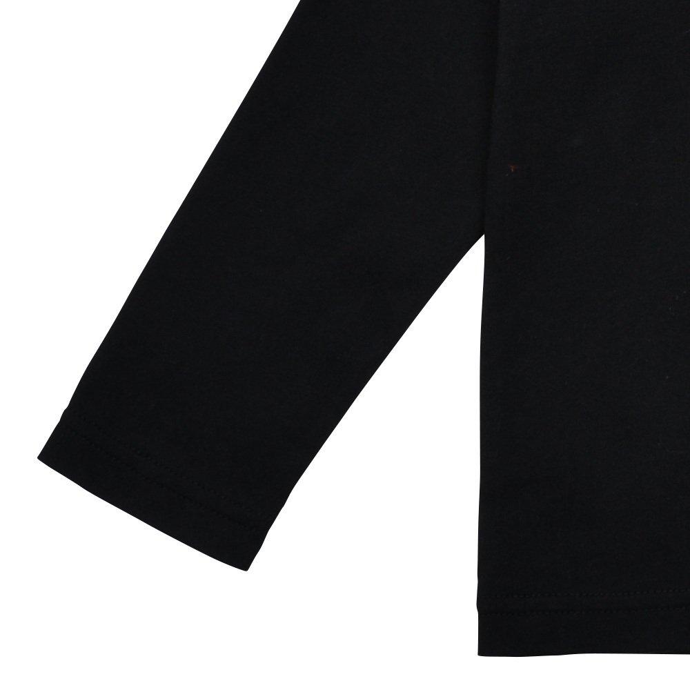 Long Sleeve Tee Shirt Bonito Black img3