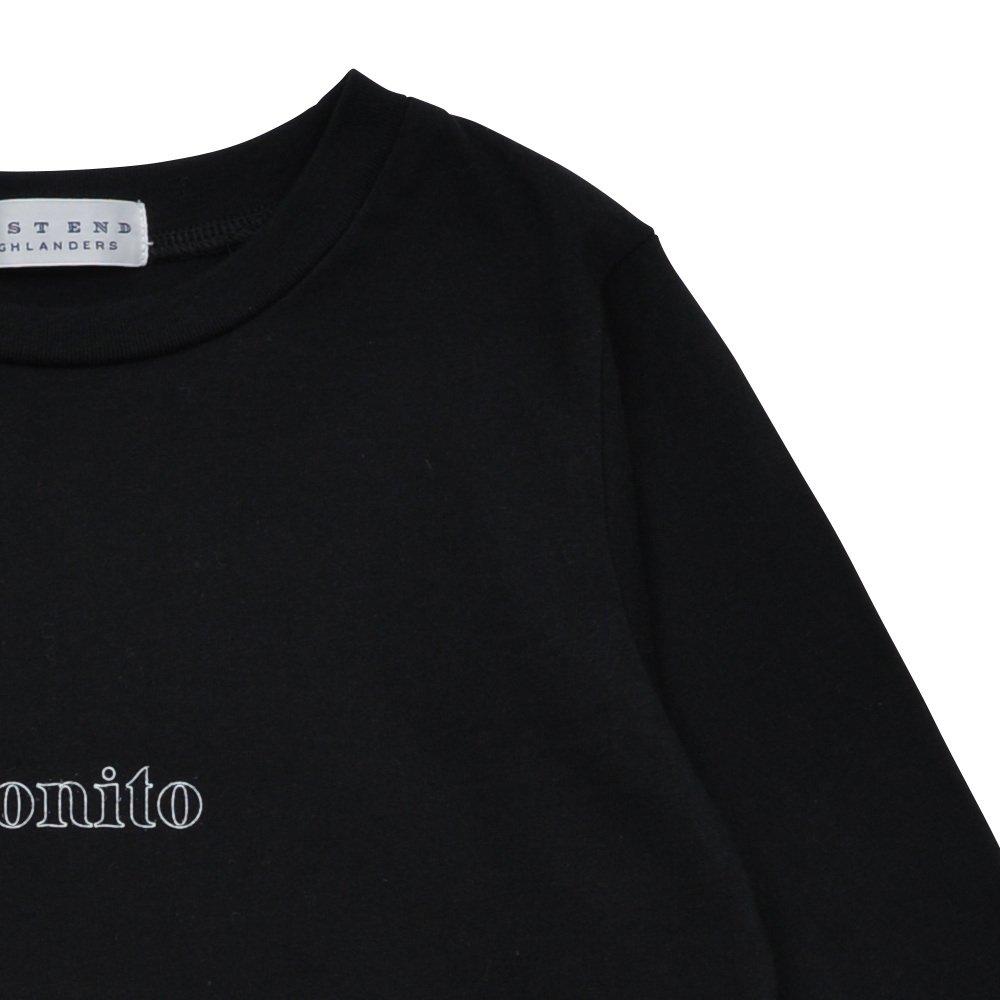 Long Sleeve Tee Shirt Bonito Black img4