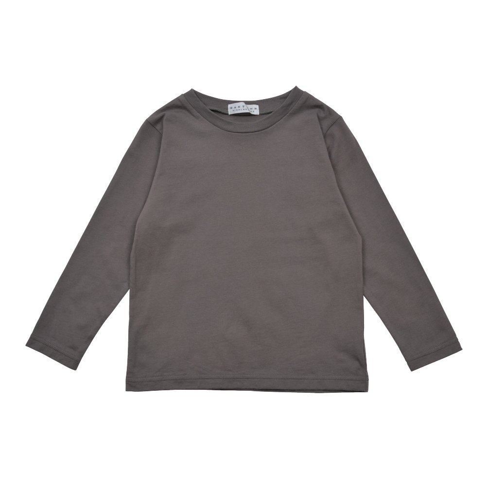 Long Sleeve Tee Shirt I'm all set Grey img1