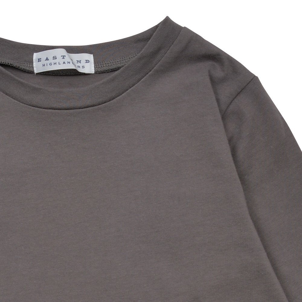 Long Sleeve Tee Shirt I'm all set Grey img4
