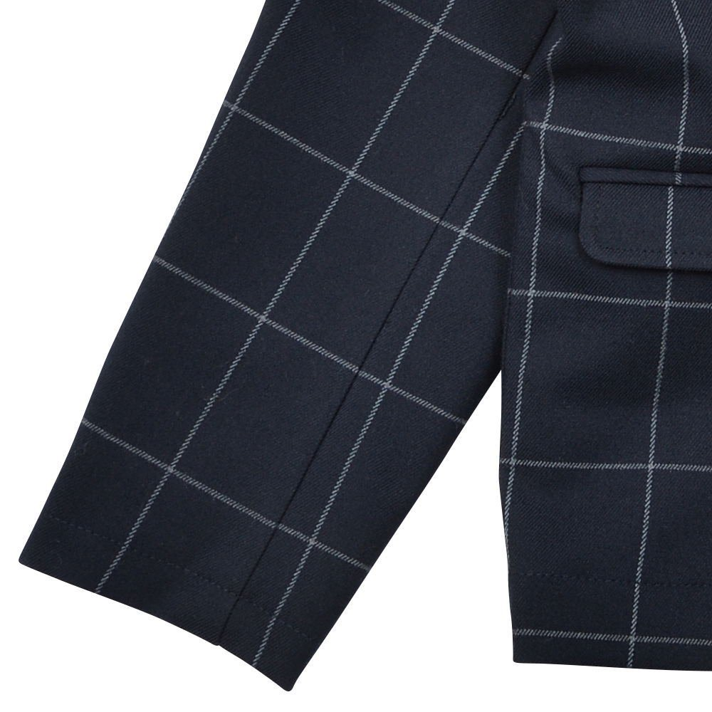 Suit Jacket navy / white plaid img4