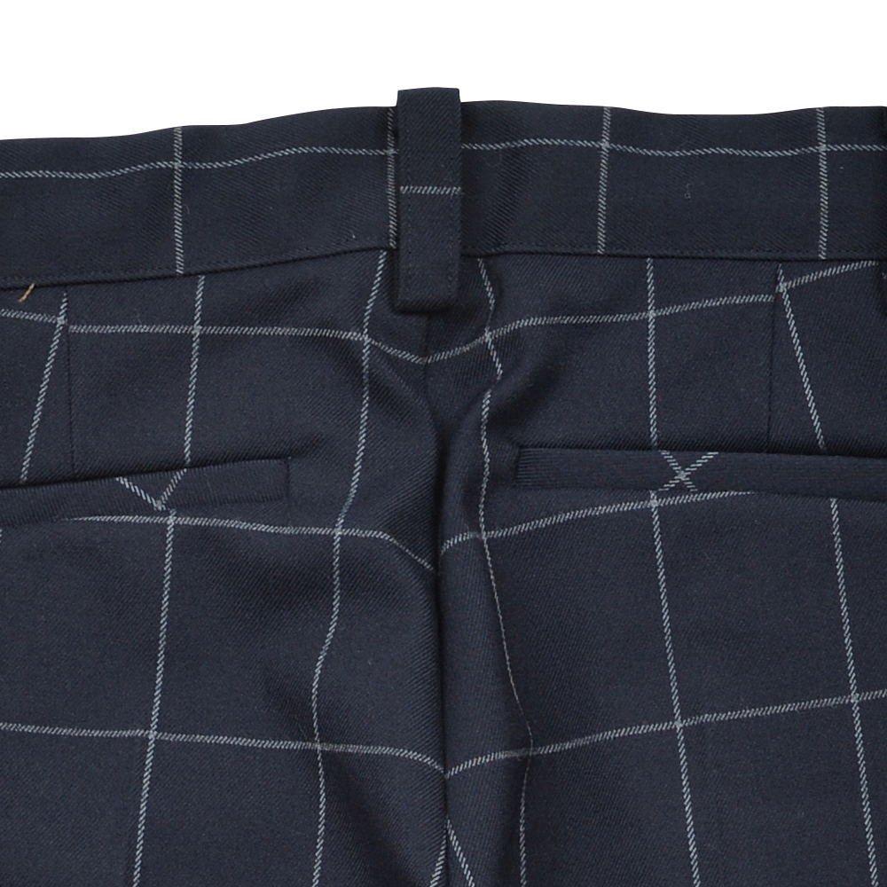 【WINTER SALE 20%OFF】Suit Pants navy / white plaid img4