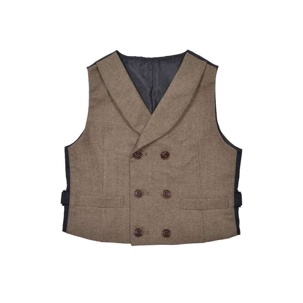 Double-Breasted Vest brown img